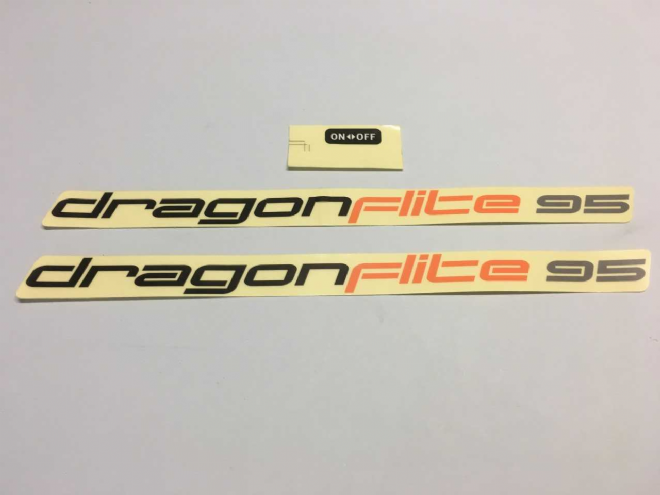 DF95 - Hull decals set